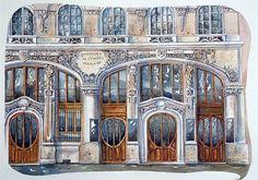 urban sketchers | Urban sketchers Paris (4) - a gallery on Flickr