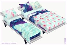 Sims 4 CC's - The Best: Elsian Bedding Set by Wildly Miniature Sandwich