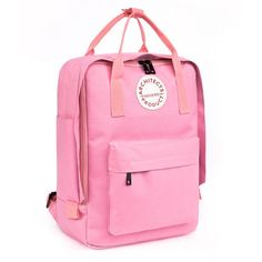 55ba724c976ab Women Casual Canvas Backpack Candy Color Waterproof Backpack School Bags  For Teenagers Girls mochila feminina A310