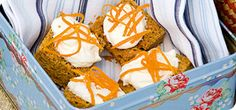 Slimming World carrot cake slices - 5 syns each