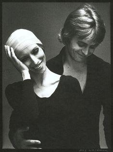 Natalia Makarova and Mikhail Baryshnikov