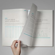 Annual Report DoubleInk // A4 and US Letter Size on Behance