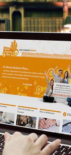 Nuestro equipo ha diseñado el sitio web de la empresa española BARNA STUDENTS PLACE, dedicada al servicio de rentabilidad de habitaciones y residencias para estudiantes en Barcelona. Su diseño web es dinámico por acentos de color y elementos gráficos y edición de imágenes de atractivo visual. Refleja juventud y es de rápida interacción para el usuario.  ¡En Liderlogo, realizamos su imagen con satisfacción garantizada!
