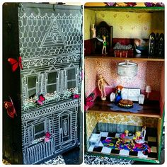 DIY Suitcase dollhouse!