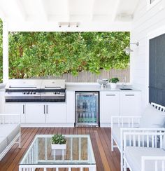 """Obtain excellent pointers on """"outdoor kitchen designs layout patio"""". They are readily available for you on our web site. Outdoor Bbq Kitchen, Outdoor Kitchen Countertops, Outdoor Kitchen Design, Outdoor Kitchens, Outdoor Rooms, Outdoor Living, Outdoor Decor, Outdoor Cafe, Outdoor Ideas"""