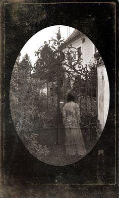 garden ghost......