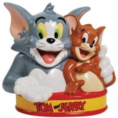 Tom & Jerry Cookie Jar made by Westland Giftware