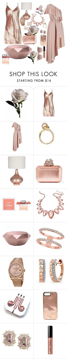 """Darling Girl"" by chelsofly ❤ liked on Polyvore featuring Abigail Ahern, Fleur du Mal, Zimmermann, Elizabeth and James, Jimmy Choo, Chloé, Thalia Sodi, Zuo, Morris & David and Rolex"