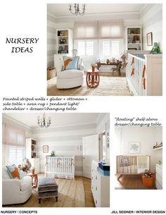 Covina Residence Online Design Nursery Project Concept Board
