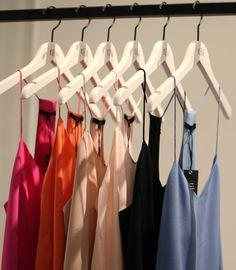 need: new camis, not too thin so I can wear them with no shirt over if I have to (need white, black and any colors)!