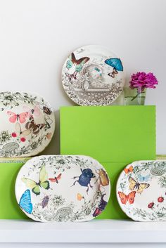 Decorated China Plates