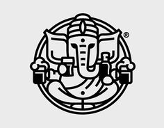 Ganesh bar logo by Alvaro Franco