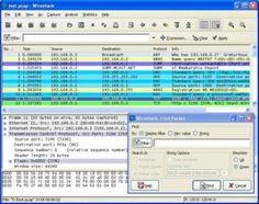 Wireshark screen shot