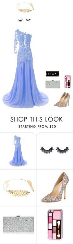 """Oscar"" by stylekittybeauty on Polyvore featuring moda, Cara, Jimmy Choo e Milly"