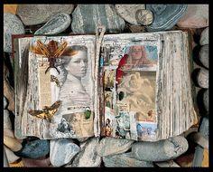 I'd love to spend a day flipping through Peter Beard's journals...