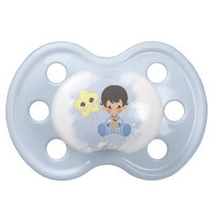 Good night baby boy pacifiers