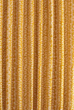 Clark Ochre Made to Measure Curtains