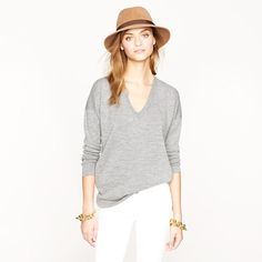 Oversize merino sweater - Julia is in navy, grey and black available in our shop, online soon!