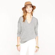 Oversize merino sweater - sweaters - Women's new arrivals - J.Crew