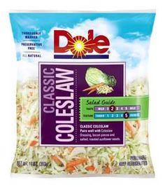 Dole Classic Coleslaw/col verde,morada y zanahoria rayada