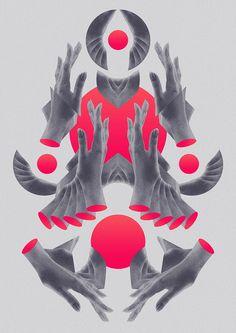 Hands of Ro by Pedro Muniz #digital #illustration