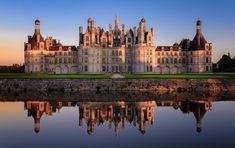 Chateau De Chambord Loire Tal Marco Polo Tolle Reiseziele Burgen Und Schlosser Ausflug