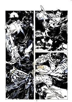 Jorge Zaffino Savage Sword of Conan 162 p.34 Comic Art