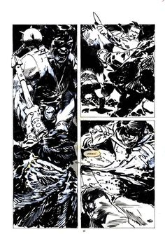 Zaffino Savage Sword of Conan 162 p.34 Comic Art