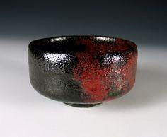 image of raku tea bowl