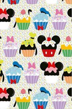 Disney Dream, Disney Love, Disney Magic, Disney Mickey, Disney Cupcakes, Disney Background, Tsumtsum, Disney Phone Wallpaper, Disney Scrapbook