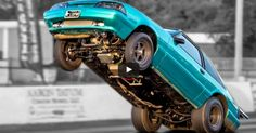 Flying Twin Turbo Fox Body Mustang | Drag Racing
