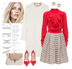 """""""Meeting with boss.."""" by gul07 ❤ liked on Polyvore featuring мода, Burberry, Victoria Beckham, Kate Spade, 8 и Lattori"""