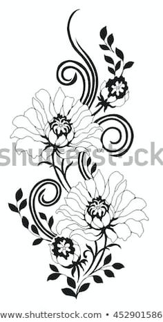 Embroidery Patterns Free, Textile Patterns, Embroidery Designs, Fabric Paint Designs, Stencil Designs, Stencil Painting, Fabric Painting, Angel Tattoo Drawings, Soutache Pattern