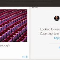 Apple is live-blogging its own iPhone 6 event