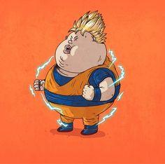 Fat Pop Culture – 26 Illustrations obèses d'Alex Solis !
