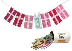 Linedyr Fødselsdagsranke med tal 0-9 år hos Tinga Tango Designbutik.  #linedyr#fødselsdagsranke#fødselsdag