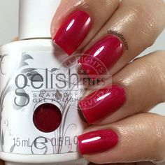 Gelish Red Matters - Ruby Two Shoes - Chickettes.com