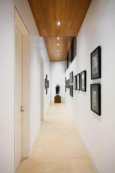 Love the concept of high, wood ceilings. Padaro Residence by Dana Berkus Interiors Apartment Renovation, Living Design, House Design, Home N Decor, Decor Interior Design, Modern Apartment, Interior, Interior Architecture Design, Hall Decor