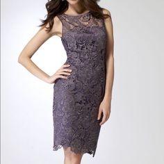 Cache Lace Sheath Dress