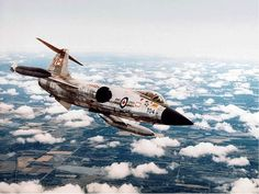Lockheed CF-104 Starfighter (license-built by Canadair) - Royal Canadian Air Force (RCAF), Canada