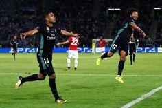 Real imbattibile, è suo il primo trofeo stagionale ai danni dello United E' un Real da sogno quello che ieri sera ha travolto lo United nella finale di Supercoppa Europea giocata a Skopjie. Anche se il punteggio non è eccessivamente severo, la squadra di Mourinho è stata  #real #united #supercoppa #casemiro #isco