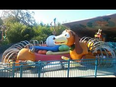 Atraction of Walt Disney Studios park - Playland - Slinky Dog Zig Zag Spin - The Luxe Toys - HD Promotion www.theluxetoys.com Disneyland Paris
