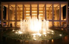 Lincoln Center New York City - Bing Images New York City Vacation, New York Travel, New York City Guide, New City, Fountain Plaza, Nyc At Night, New York City Pictures, New York Theme, New York City Apartment