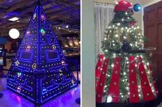 16 Geekily Beautiful Christmas Trees That Will Bring You Nerdy Joy