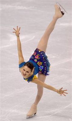 Sasha Cohen Spiral  FIGURE SKATING -- Arabesque spiral 2006 Winter Olympic by tanya77761, via Flickr