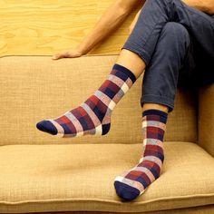 >> Click to Buy << 1 pair  Spring Autumn Winter Cotton Men Socks Korean Classic fashion Plaid casual tube Socks best gifts #Affiliate