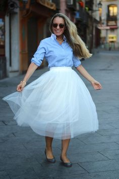 tulle skirt a new extension of tutus in style