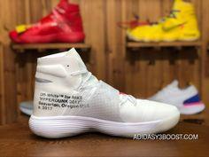 "f0ee364c42b Off-White X Nike REACT Hyperdunk 2017 Flyknit ""Triple White"" GHOSTING AJ4578 -100 Basketball Shoes Free Shipping"