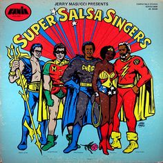 "lustnspace: "" Jerry Masucci Presents: Super Salsa Singers Hector Lavoe, Ismael Miranda, Cheo Feliciano, Celia Cruz and Ismael Rivera. Lp Vinyl, Vinyl Records, Salsa Musica, All Star, Arte Punk, Latin Music, World Music, Various Artists, Swagg"