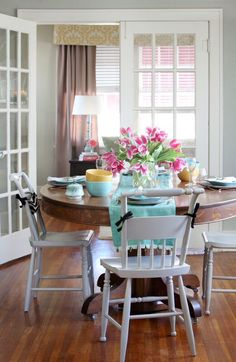 mix-and-match dining room chairs | apartment ideas, mix match and